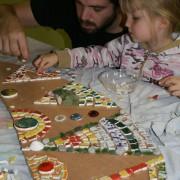 Atelier avec les enfants d'un quartier de Wazemmes - Réalisation d'une fresque
