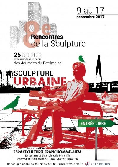Affiche Sculpture Urbaine